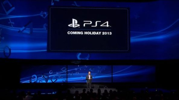 PS4 Coming Holiday 2013