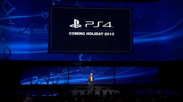 PS4 Coming Holiday 2013