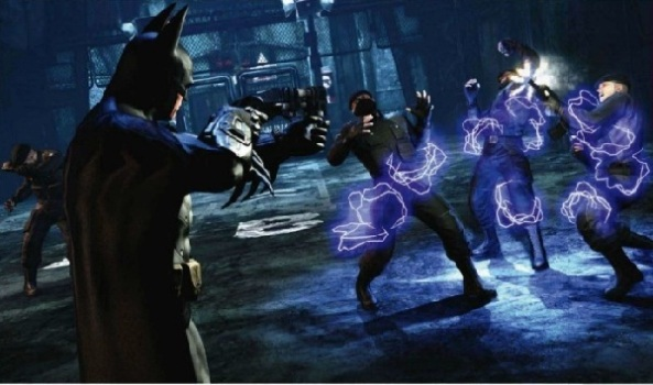 Batman Arkham City Combat Maps